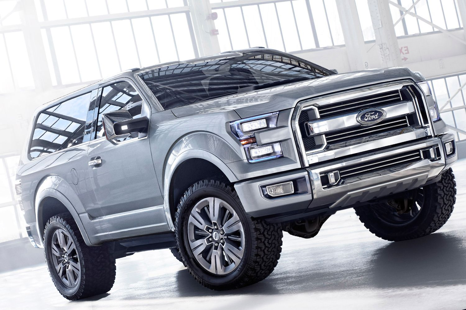 The Ford SVT Bronco Is Available With Three Different Engine - 2016 ford vehicle lineup