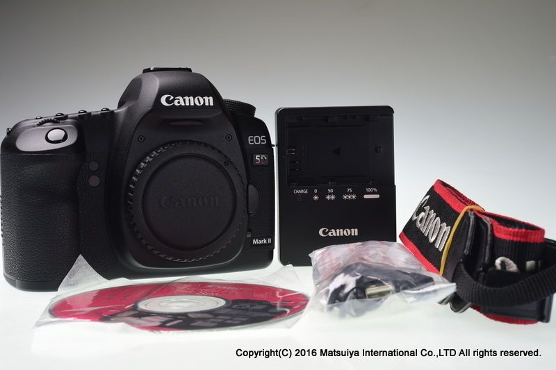 Mint Canon Eos 5d Mark Ii Body Shutter Count Only 1466 Canon