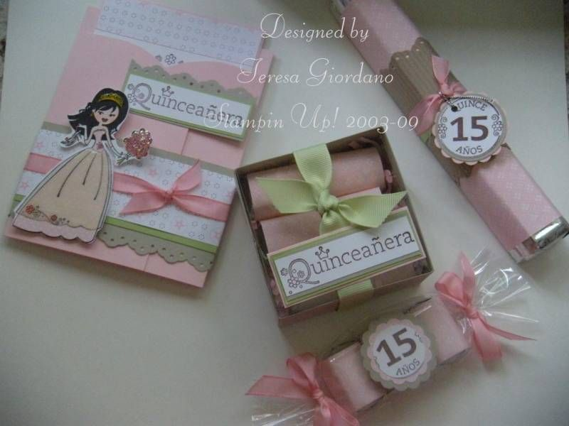 quinceañera party by teresa giordano - cards and paper crafts at, Einladung