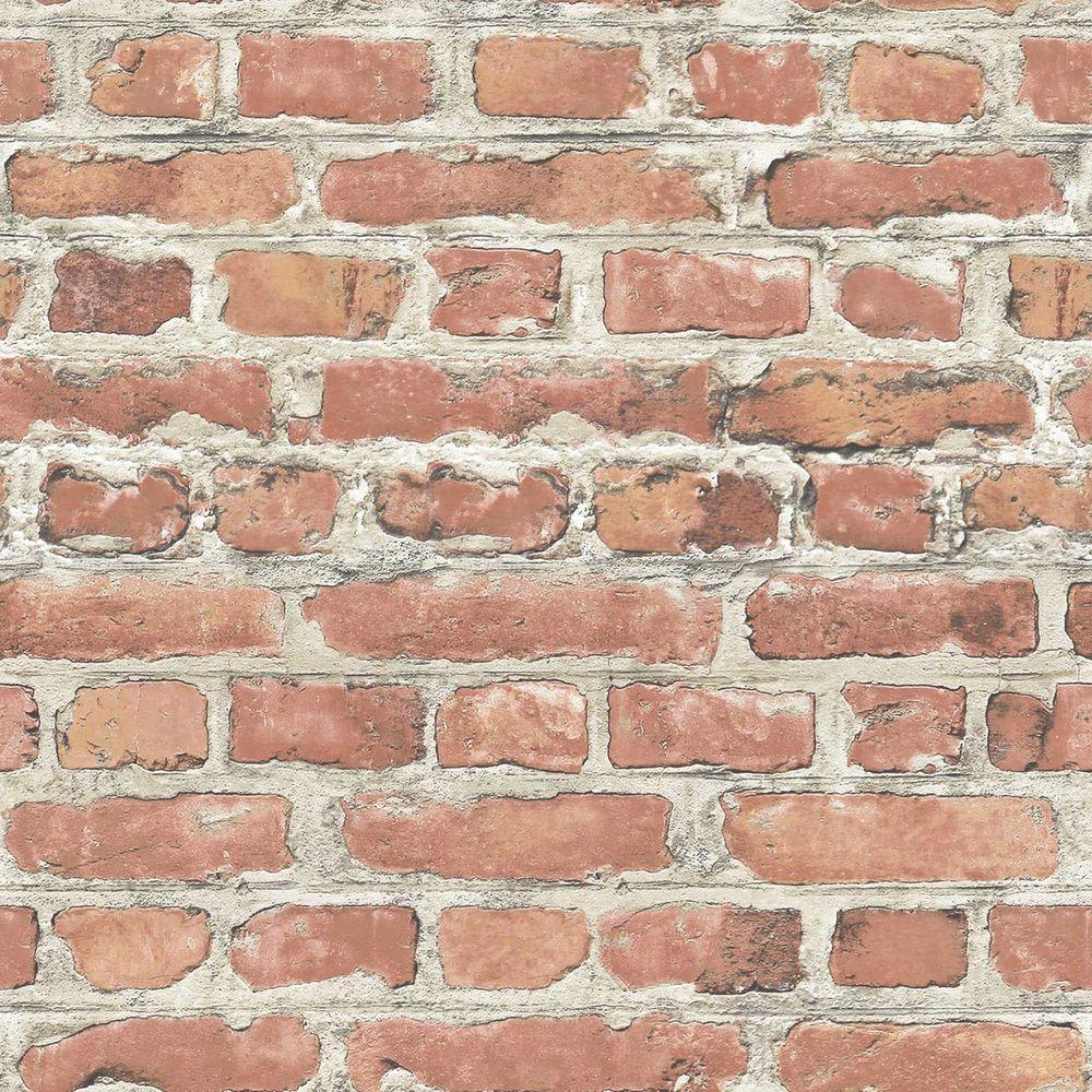 Rasch Papier Peint Effet Briques Rouges Rolls 235203
