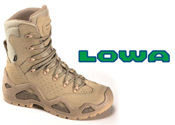 4e913530887 LOWA Z-6 & Z-8 Tactical Boots | boots and shoes | Tactical shoes ...