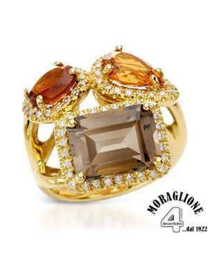 Ah-this is gorgeous, and it includes some my favorite semi-precious stones: Citrine, (yellow and Madeira) and Smokey Quartz/Topaz. plus diamonds! The design is stunning, too.  www.modnique.com