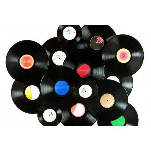 disque vinyle id es pinterest vinyle deco et parement mural. Black Bedroom Furniture Sets. Home Design Ideas