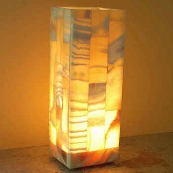 Costco: Egyptian Alabaster Mosaic Lamp | furniture | Pinterest ...