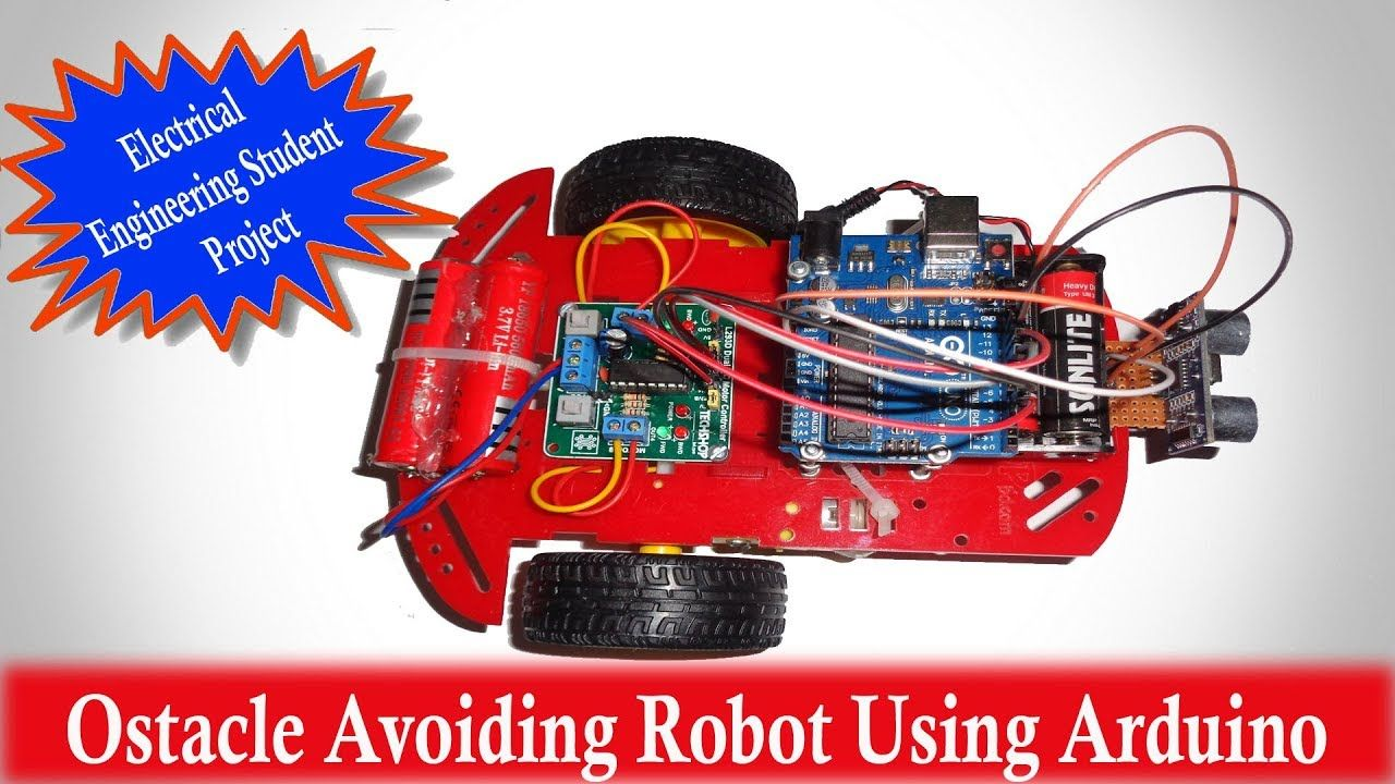 Electronics projects - Ostacle Avoiding Robot Using Arduino ...