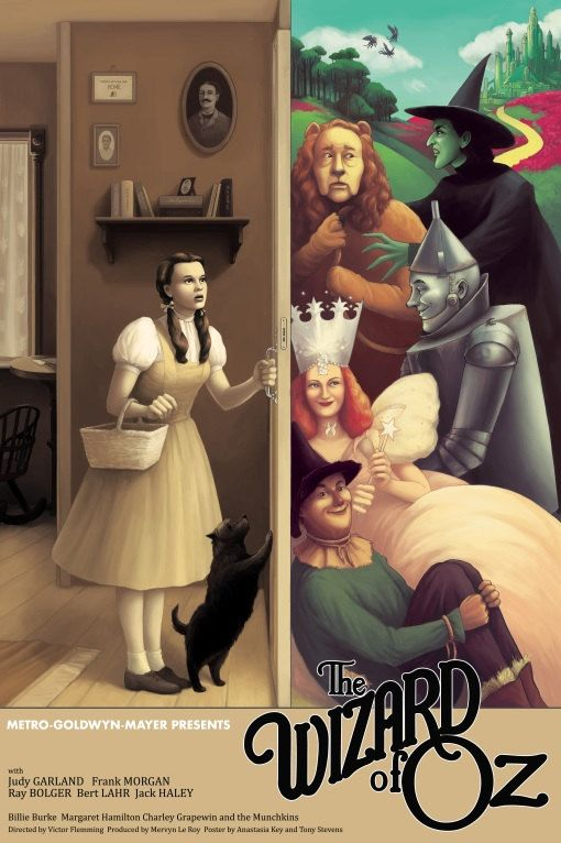 The wizard of Oz Judy Garland #2 movie poster