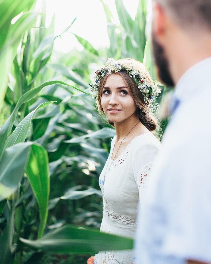 Sarah and nate stracke midwest diy boho wedding weddings