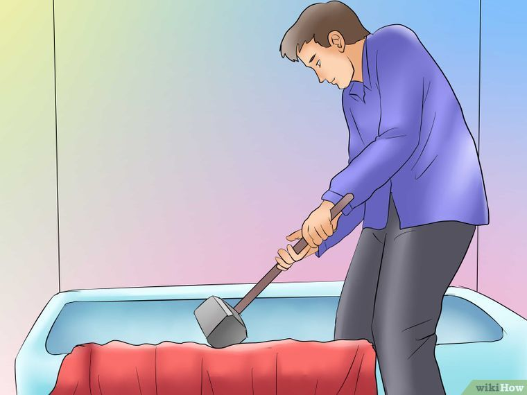 Remove A Cast Iron Tub Cleaning Hacks Cast Iron Tub Clean