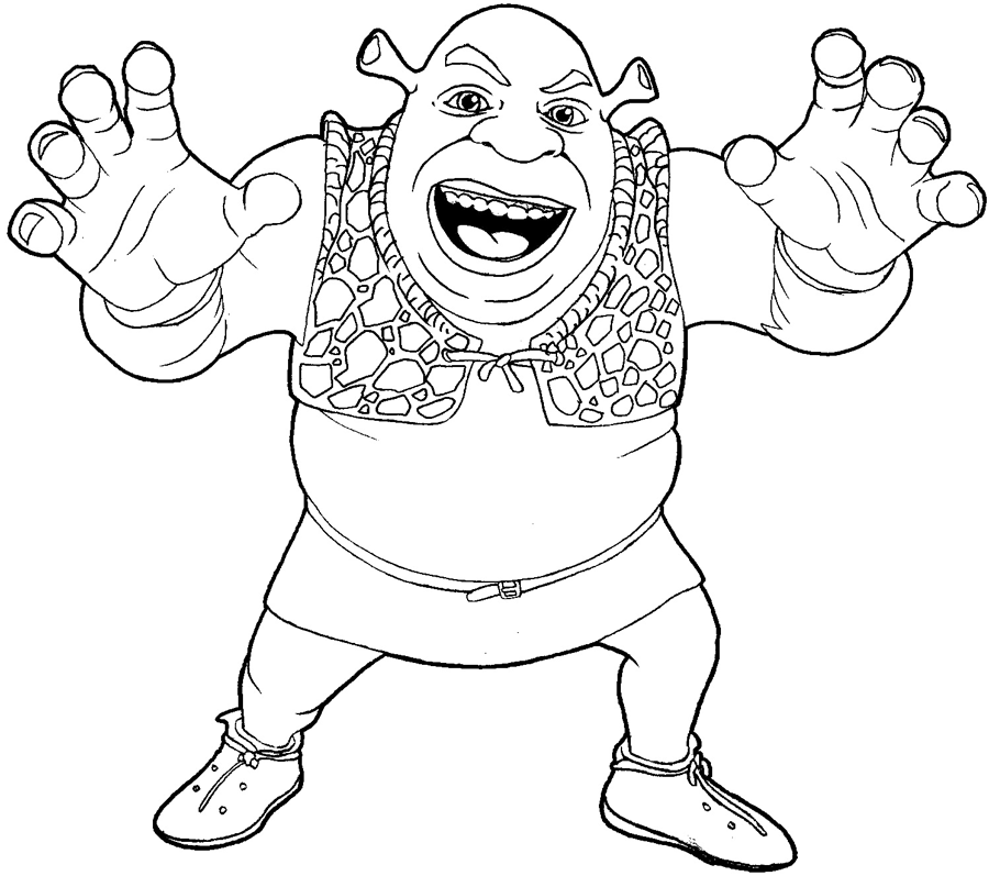How To Draw Shrek From Shrek With Easy Step By Step Drawing Tutorial How To Draw Step By Step Drawing Tutorials Step By Step Drawing Drawings Drawing Tutorial