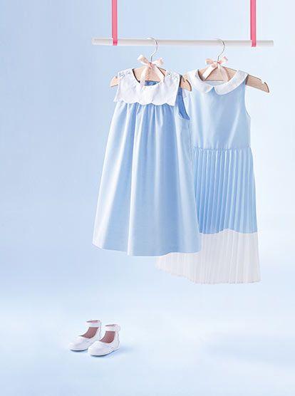 Robe bleu jacadi