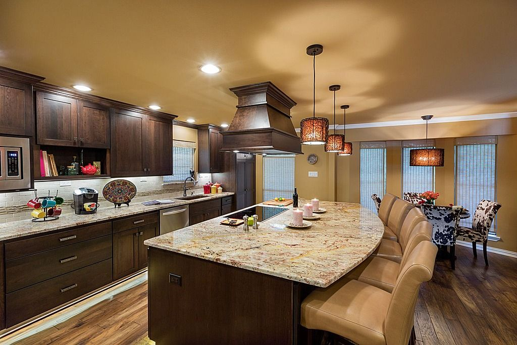 52 Dark Kitchens With Wood And Black Kitchen Cabinets