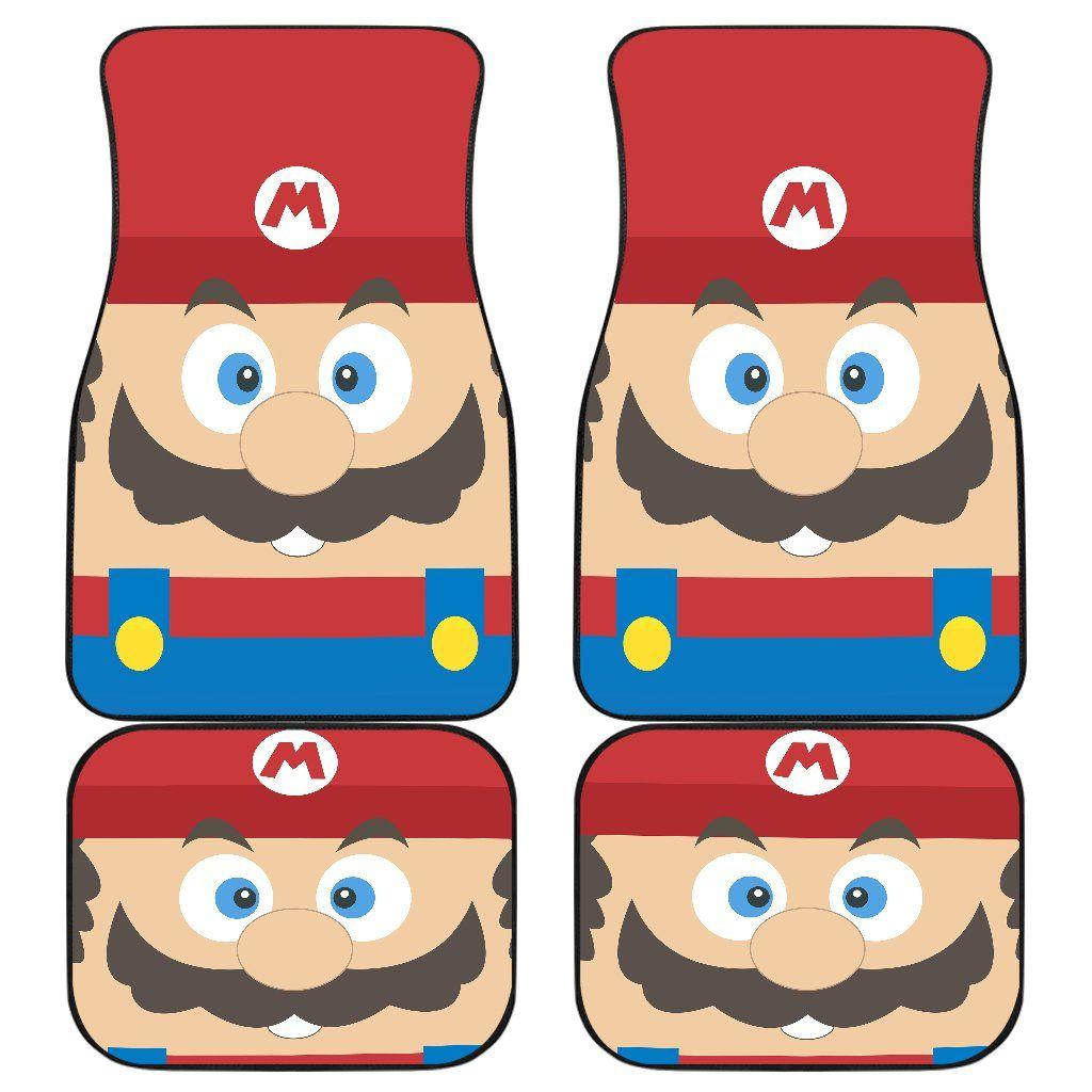 Mario Car Mats 1 Car Mats Car Floor Mats Car