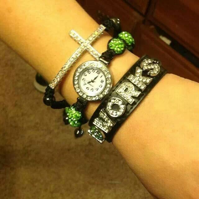 For my It Works friends...I love the watch and cross bracelet to go with it www.charmsations.com/#GetYourBling