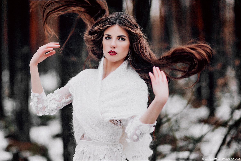макияж для зимней фотосессии на улице свои