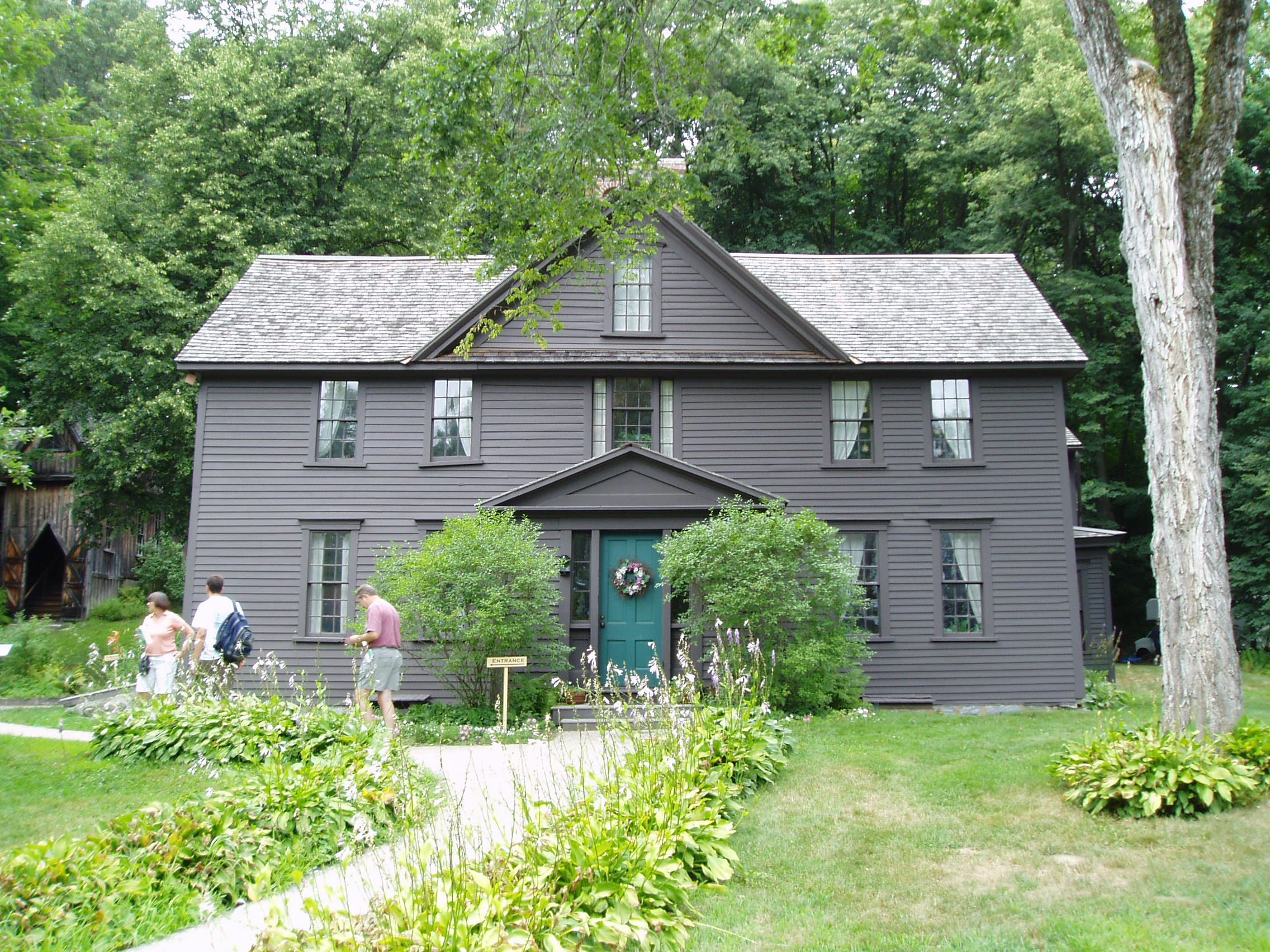 Louisa May Alcott House Orchard House Concord Ma Charming