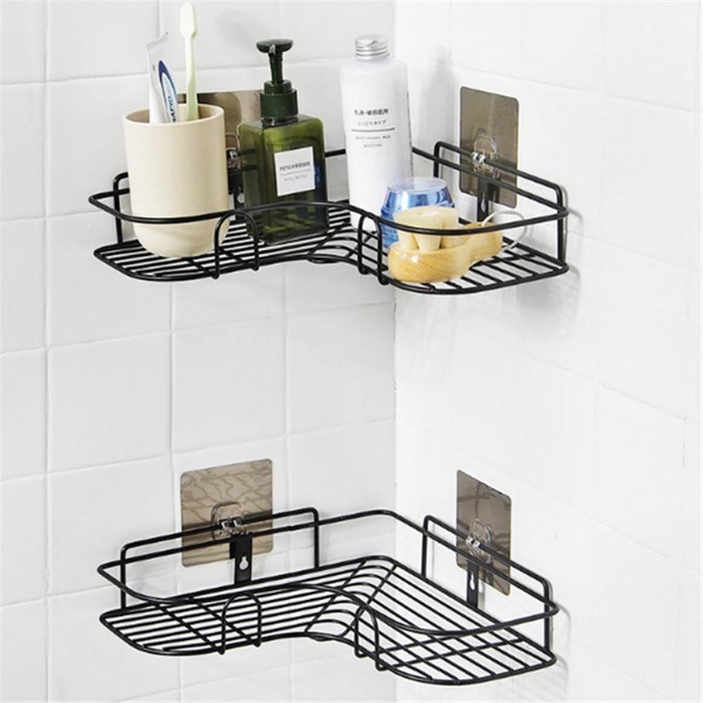 Home Best Caddy Tray Holder In 2020 Shower Shelves Bathroom Storage Shower Rack