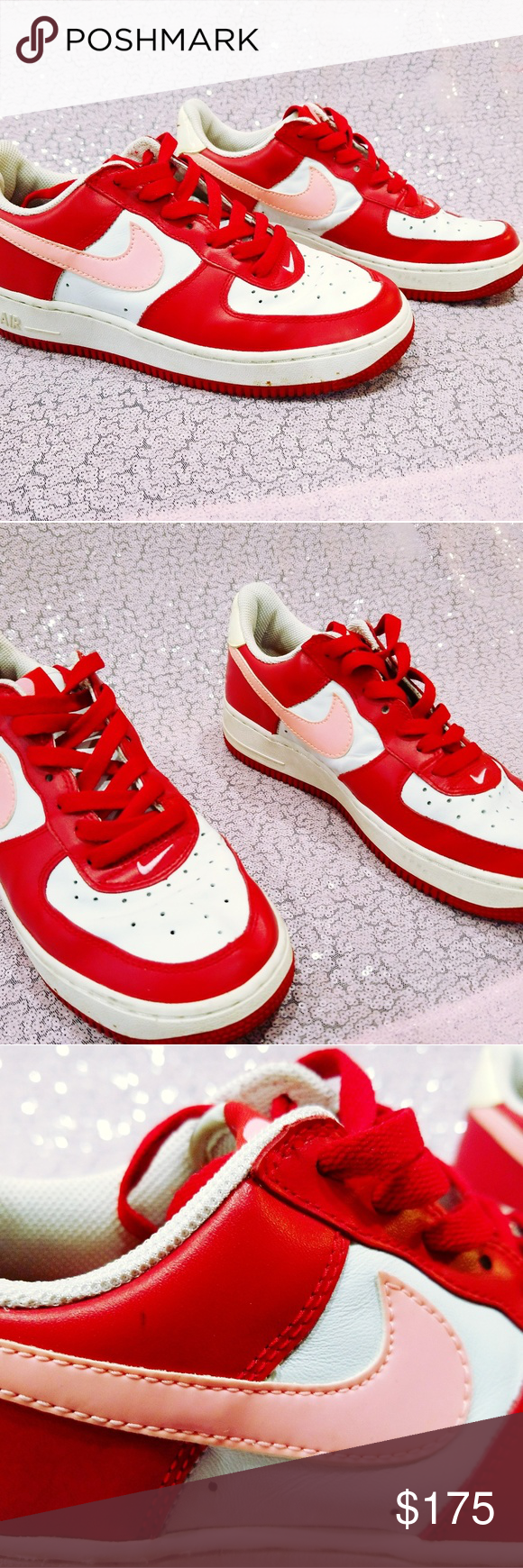 Sold Rare Nike Air Force 1 Valentine S Day Sz 7 5 In 2018 My Posh