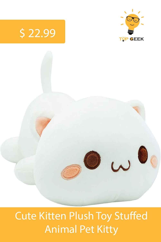 Predownload: Best Cute Kitten Plush Toy Stuffed Animal Pet Kitty Kitten Plush Toy Cat Plush Pet Toys [ 1500 x 1000 Pixel ]
