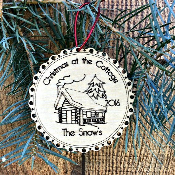 Wooden Our First Apartment Ornament Christmas New Gift Apartm