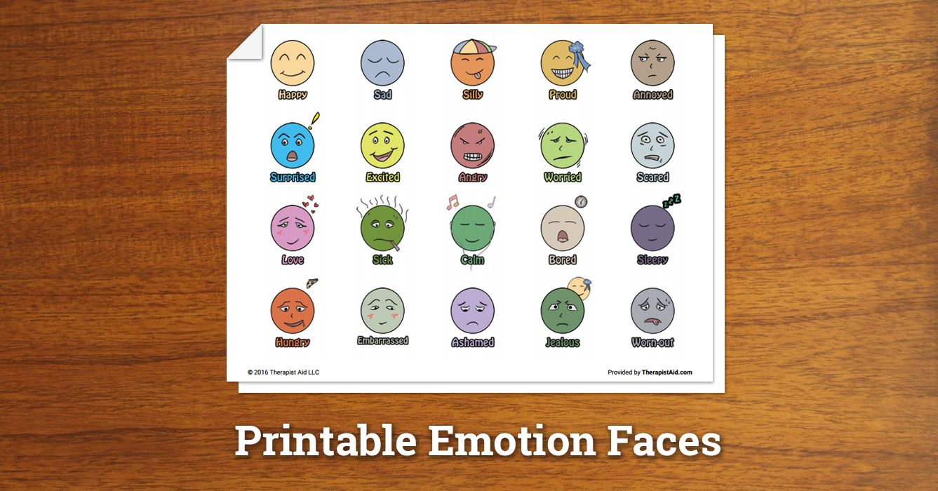 Feelings Chart And Cards With Ideas Of Activities And Games To Use
