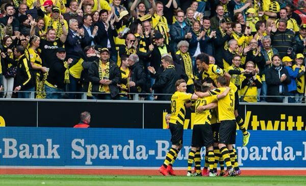 Borussia Dortmund Took A Much Desired Three Points On Saturday Against Bsc Hertha Berlin The Game Ended 2 0 And The Borussia Dortmund Europa League Dortmund