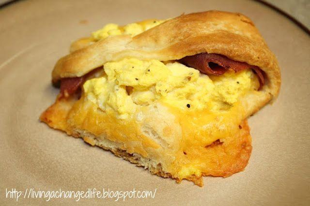 Santa Fe Breakfast Ring (weight watchers friendly)