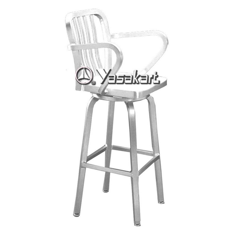 2019 brushed aluminum bar stools modern luxury furniture check more at http