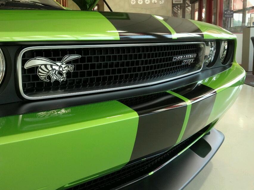 Green Dodge Challenger SRT8 Challenger srt8