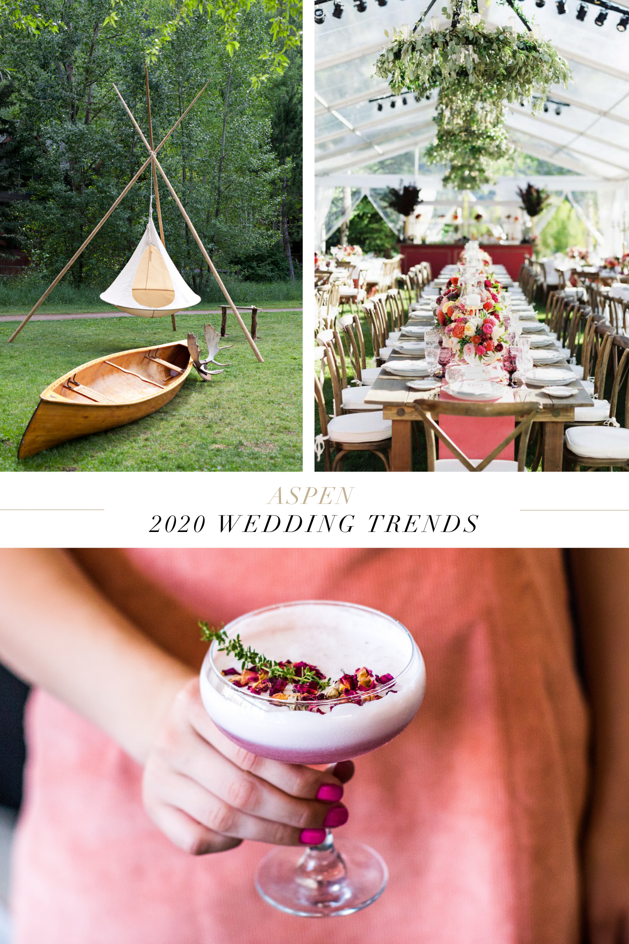 7 Wedding Predictions for 2020 from Aspen Professionals in