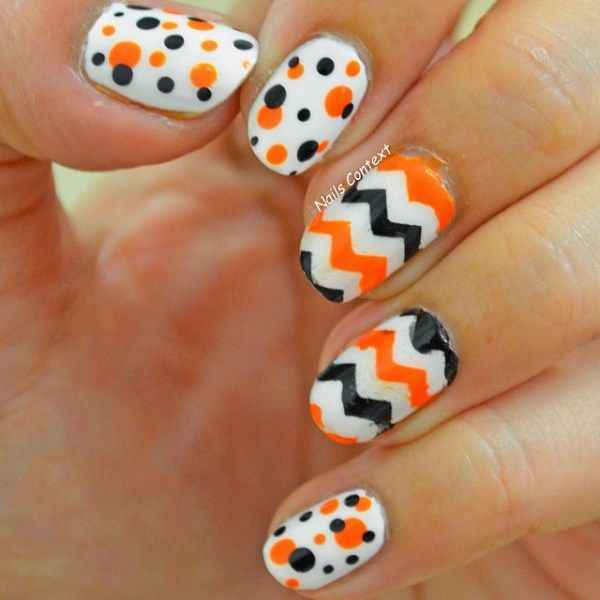 Easy halloween nail art you can actually pull off at home easy easy halloween nail art you can actually pull off at home prinsesfo Image collections