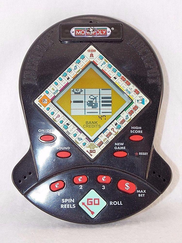 Hasbro Monopoly Jackpot Casino Slot Electronic Handheld Game