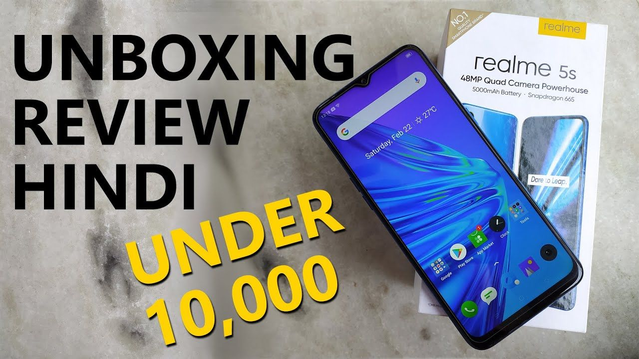 Realme 5S Unboxing Full Review Best Phone Under 10000 in