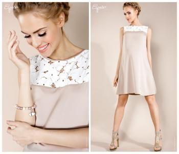 Hit Elegancka Sukienka Ciazowa Linda L 40 4059801056 Oficjalne Archiwum Allegro
