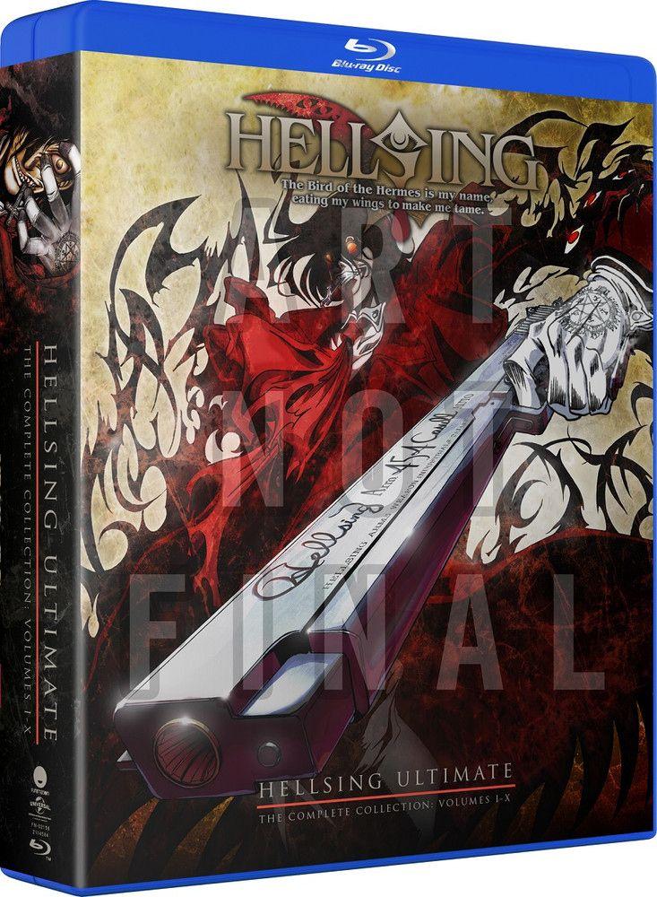 Hellsing Ultimate OVA Bluray in 2019 Ova, The line of
