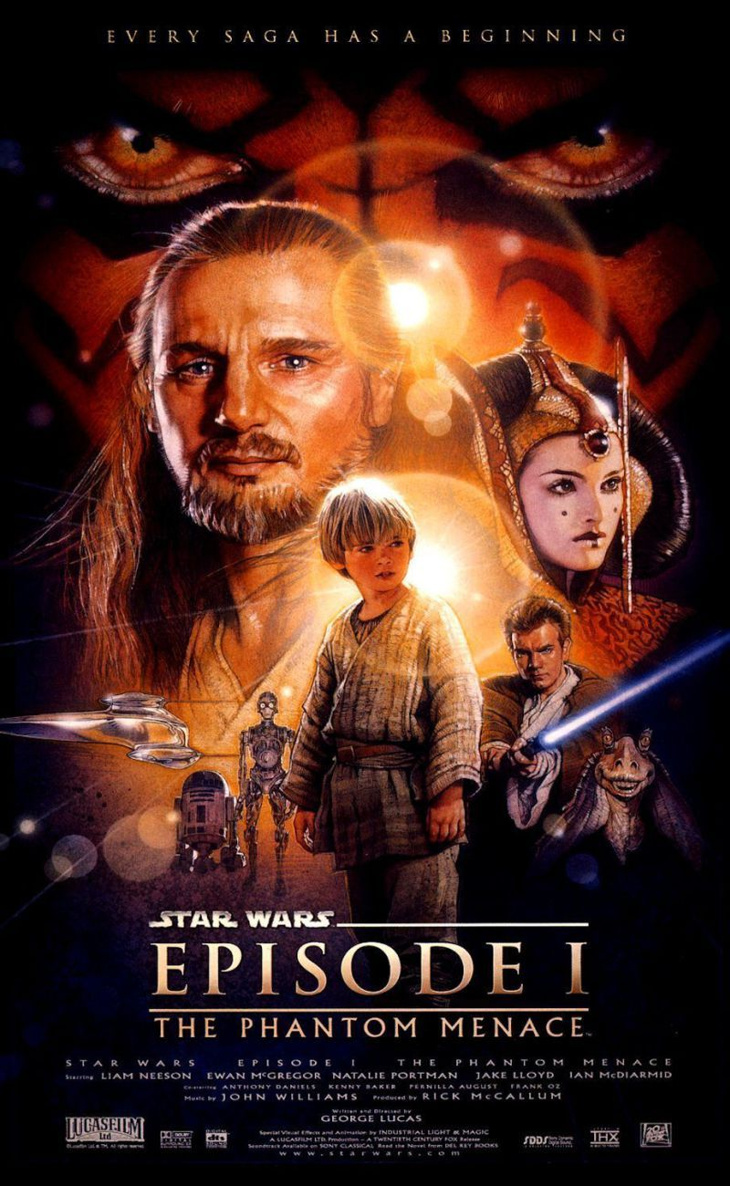 Watch The Movie Star Wars Episode 1 For Free And In High Quality Filme Sehen Filmplakate Star Wars