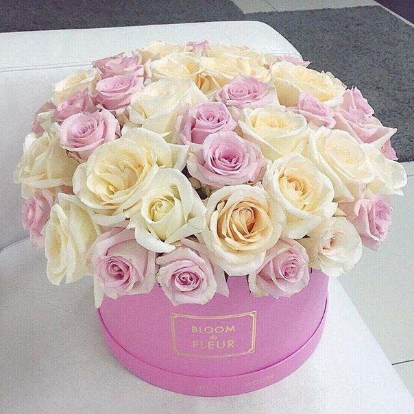 Красивые открытки, с днем рождения цветы картинки красивые в коробке