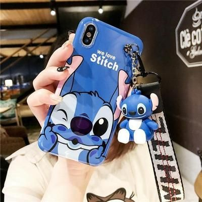 Disneys Stitch Lanyard & Toy Phone Case    – Pacific Bling | New Arrivals