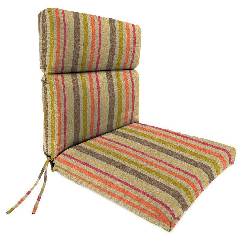 jordan manufacturing sunbrella high back 20 in dining chair cushion rh za pinterest com