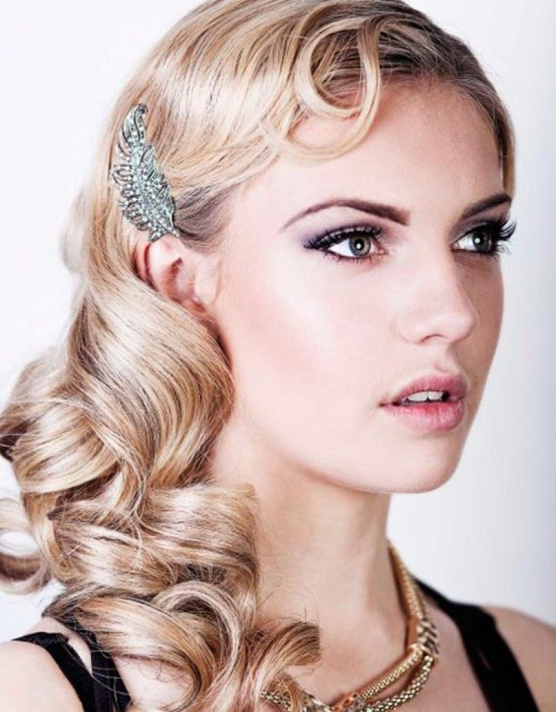 flapper hairstyles for medium hair