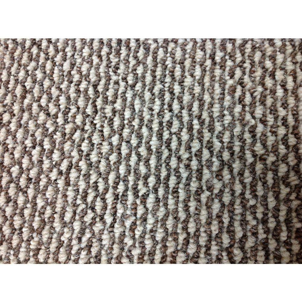Trafficmaster Cyclone Color Bayou Brown Tan Berber 12 Ft Carpet Attached Pad 6121 0100 The Home Depot Berber Carpet Carpet Colors Carpet