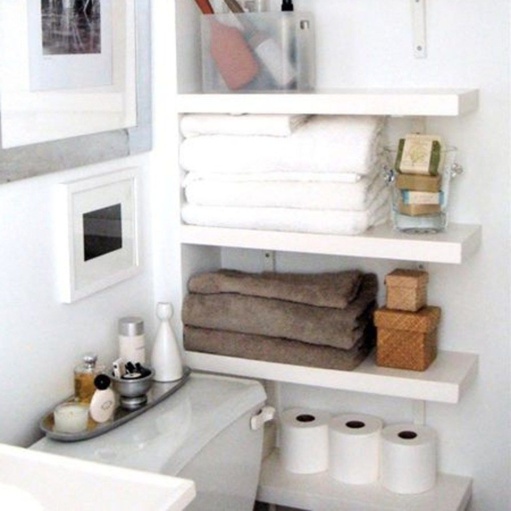Creative Storage Solutions For Small Spaces Diy Storage For Small Spaces Bathroom Storage Solutions Small Bathroom Storage