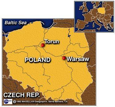 torun poland map POLAND Pinterest Poland map and Poland