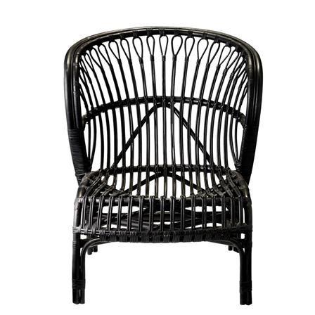 Achica Black Bamboo Chair Bamboo Chair Chair Black Rattan Chair