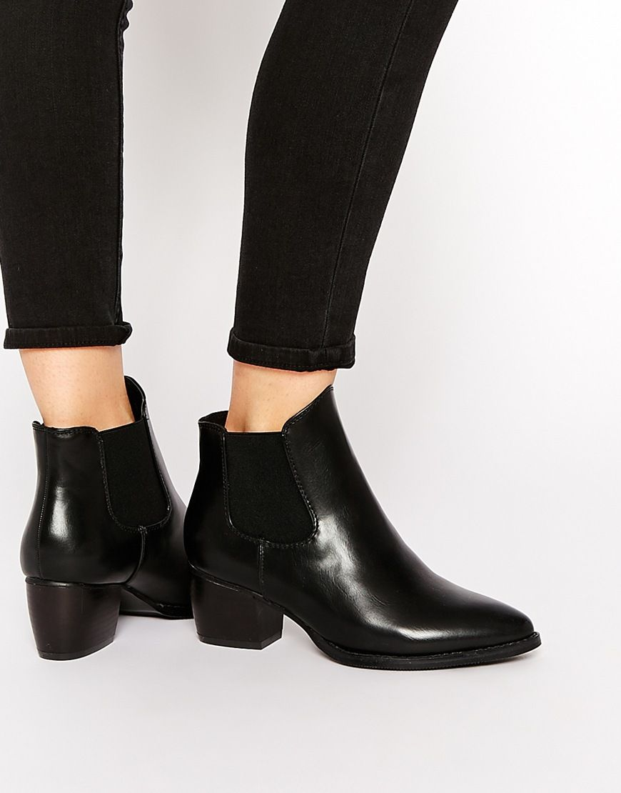 Truffle Collection Thea Heeled Chelsea Boots | More Chelsea ideas