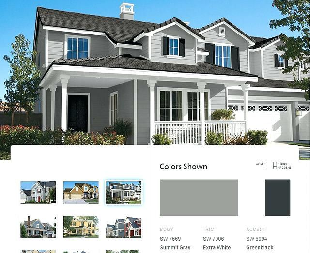 Light Grey Exterior Paint Good Best Ideas About Gray Houses On House Lights Colors With