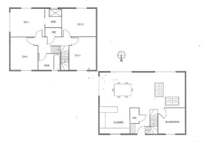 avis sur plan de maison a tage de 120 m2 7 messages plan maison. Black Bedroom Furniture Sets. Home Design Ideas