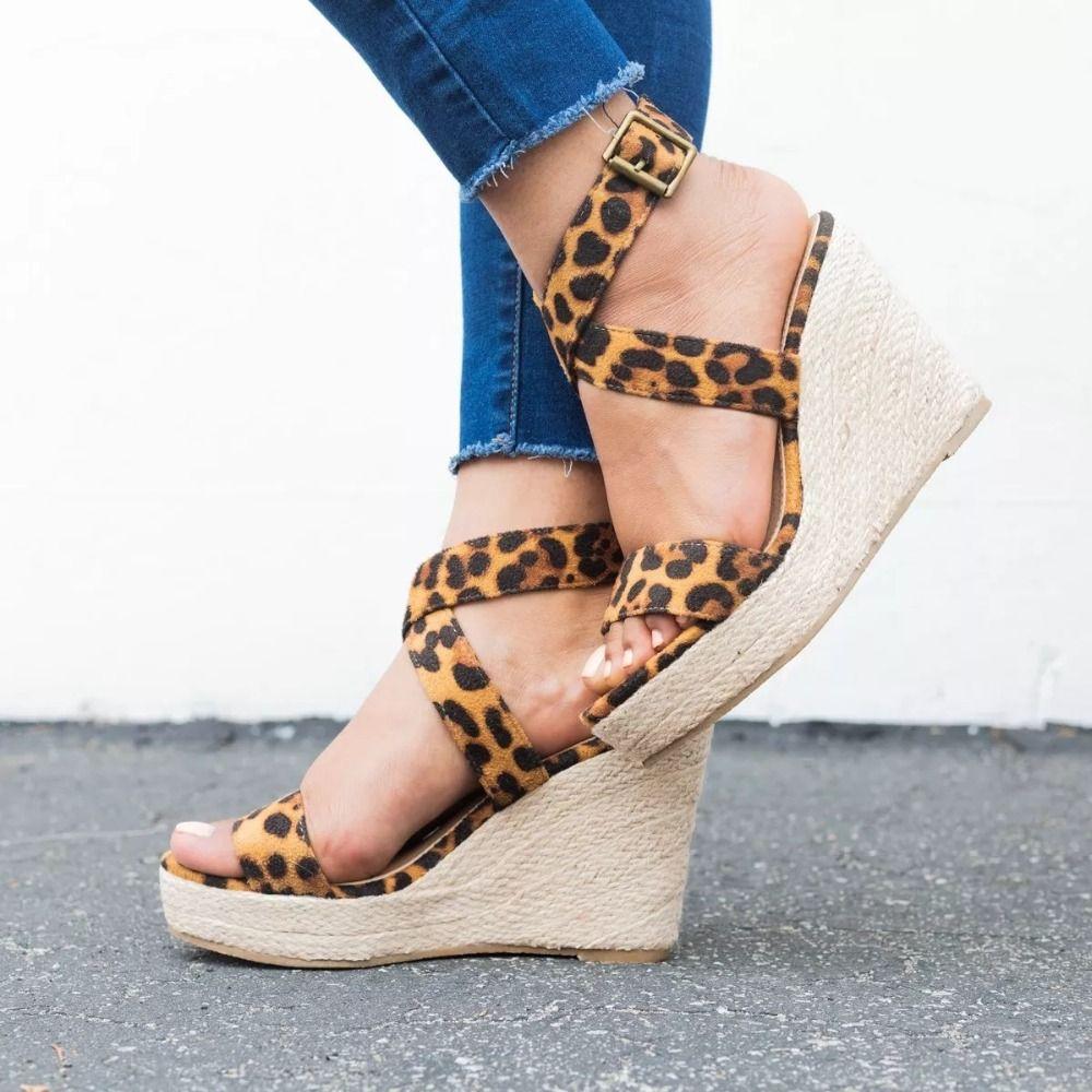 d99c31cd40d Shoes - 2018 Summer Sexy Ladies Ankle Strap Platform Sandals – Kaaum ...