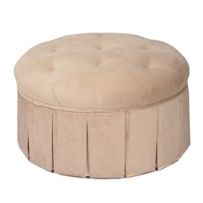 Pleasant Product Details Nicolette Beige Ottoman Kenzie Ottoman Pabps2019 Chair Design Images Pabps2019Com