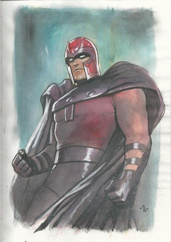 Magneto by Adi Granov