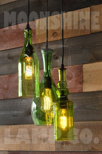Recycled bottle chandelier the harmony by moonshinelamp on etsy items similar to recycled bottle chandelier the harmony on etsy aloadofball Gallery